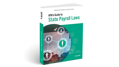 apa's guide to state payroll laws book cover