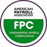 2020 Fundamental Payroll Certification (FPC) digital badge