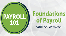 Payroll 101 - Foundations of Payroll