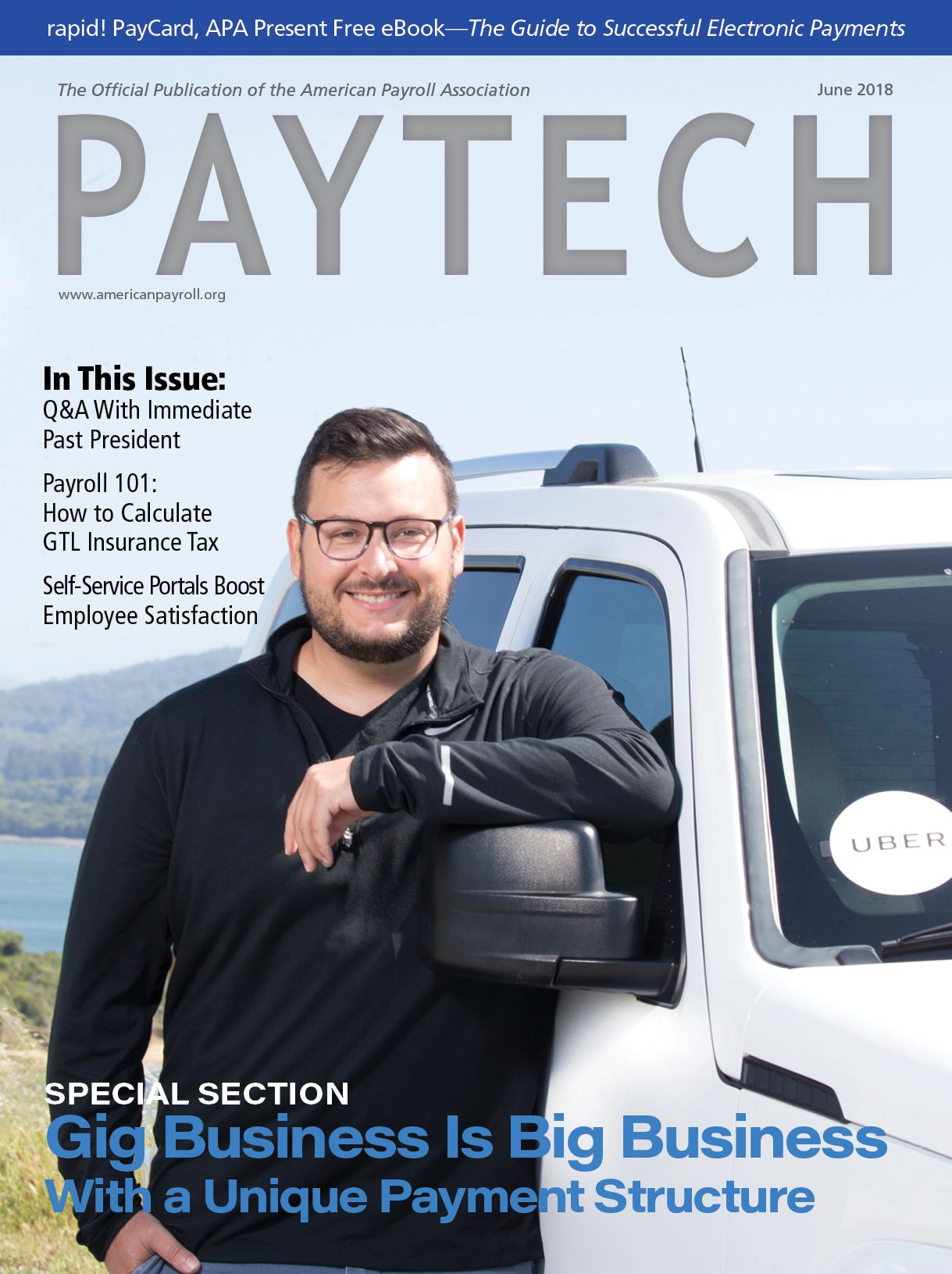 February PAYTECH cover
